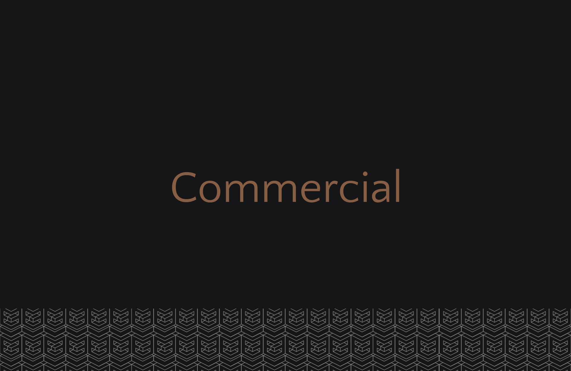 Categories Commercial